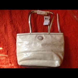 bb8842d578b7 Coach Bags - Cream Coach Purse