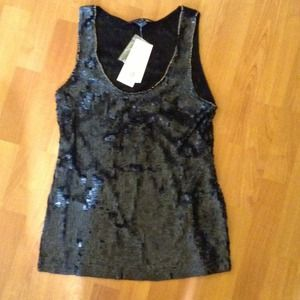 French Connection Sequin top