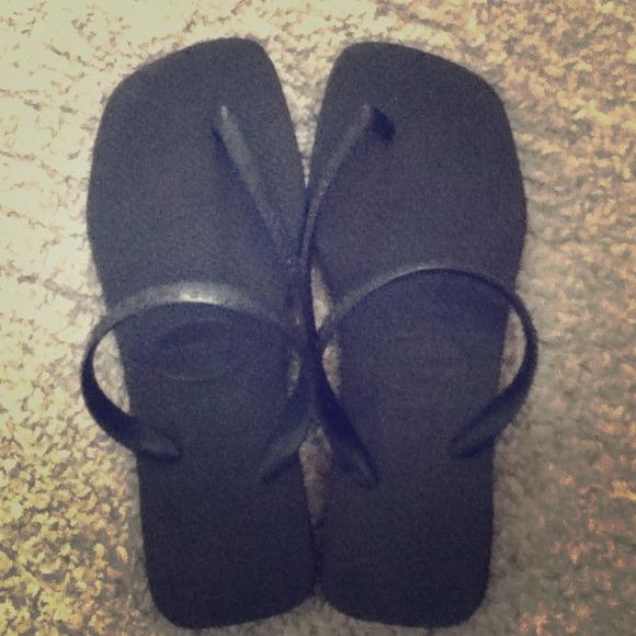 b3ee2ce5c Havaianas Shoes - Havaianas flash black sandals