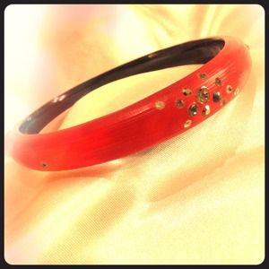 Red Alexis Bittar bangle--hard to find!