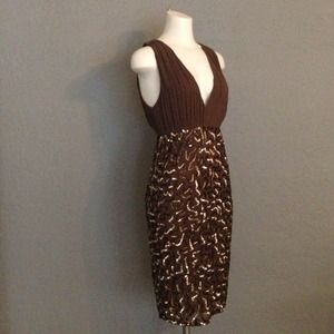 Alice + Olivia - Millie V-Neck Sequin Dress