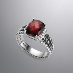 David Yurman Authentic Petite Wheaton Garnet