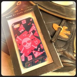 LAST ONE MBMJ Punch Pink Skull iPhone 5 Case