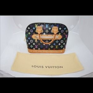AUTHENTIC Louis Vuitton Monogram Multicolor Alma