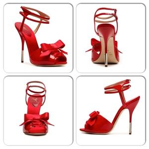 Giuseppe Zanotti Shoes - 100% Authentic Giuseppe Zanotti Red Patent Leather