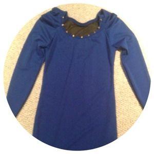 Dresses & Skirts - Royal Blue Studded Dress