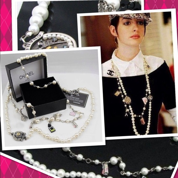 0a9b7c875 CHANEL Jewelry | Nwot Devil Wears Prada Pearl Necklace | Poshmark