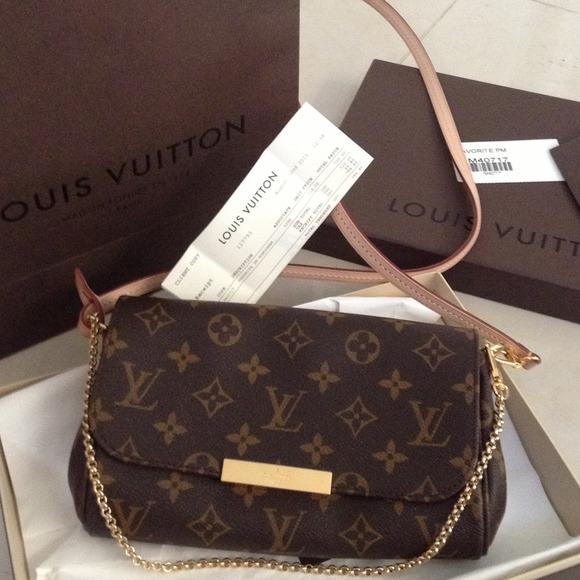 00c448f7f57 Louis Vuitton favorite pm monogram NWT