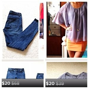 BUNDLE FOR SPAIN Madewell Skinny Jeans / Jeggings
