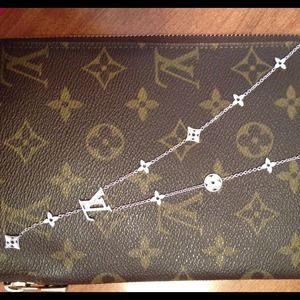 Louis Vuitton Jewelry - No longer available. Real Diamond Necklace
