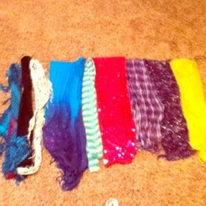 Scarfs $4 each OR $25 all together