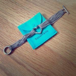 Authentic Tiffany & Co Heart bracelet