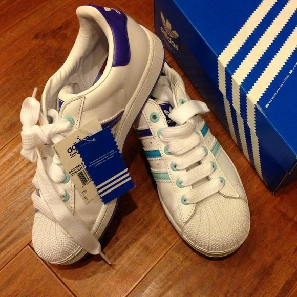 Adidas zapatos bnwt ombrívolos superstar zapatilla poshmark
