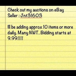 eBay user Id Jnt31603
