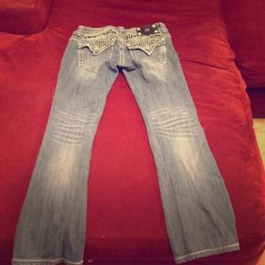 Miss Me size 28 boot cut jeans