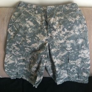 Trouser army combat shorts
