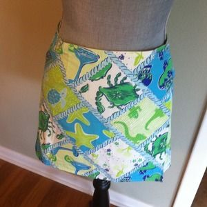 Lilly Pulitzer Dresses & Skirts - Reversible Lilly Pulitzer skirt