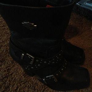 037bc03c30593b Harley Davidson Shoes - Sharp Harley boots SOLD on EBAY !