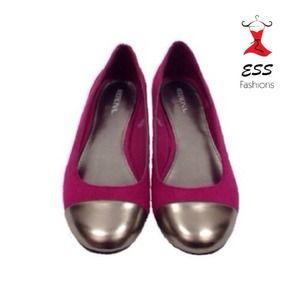 Shoes - NWOB fuchsia flats!