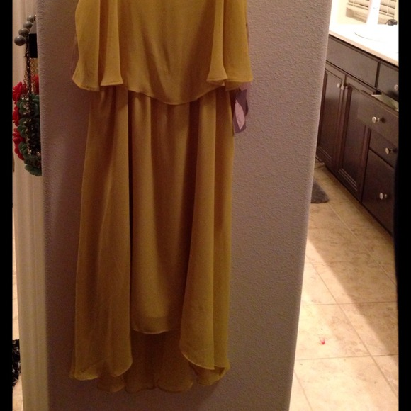 Forever 21 Dresses - Forever 21 citron hi low dress BNWT