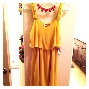 Forever 21 Dresses & Skirts - Forever 21 citron hi low dress BNWT