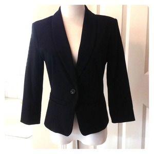 XXSOLD XX Black fitted 3/4 sleeve blazer size M