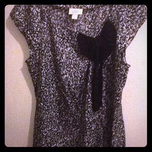 W Ann Taylor Loft dress blouse
