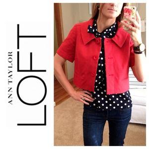 LOFT Jackets & Blazers - NWOT LOFT Panama Swing Jacket