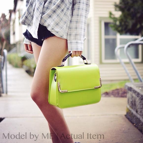 SALE Classy messenger bag GREEN