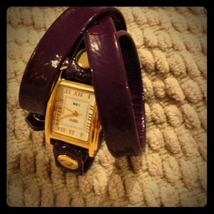 Purple La Mer Collections watch