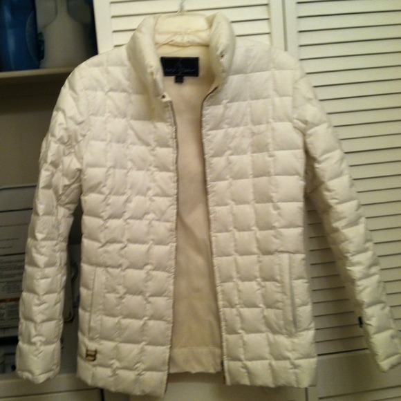 a81dd597c White quilted baby phat puffer jacket