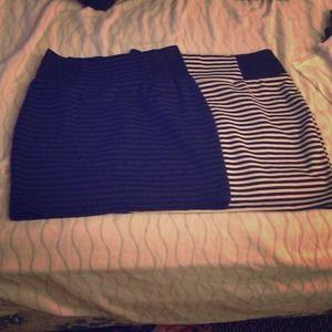 BUNDLE . two body con stripe skirts
