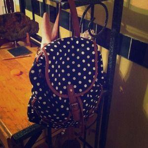 Handbags - Epic polka dot backpack
