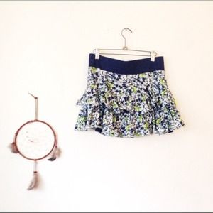 Free People Floral Skirt