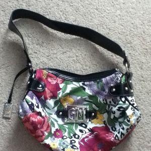 fake prada luggage - 73% off Handbags - Gia Milani Black Faux leather zebra print ...