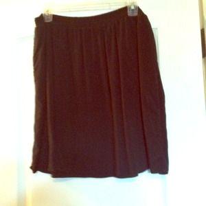 Dresses & Skirts - NWOT Basic Black Mossimo skirt