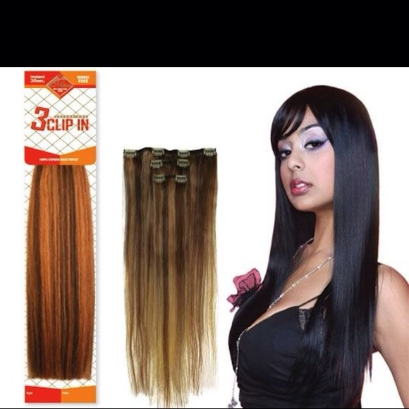 Milano brand new 3 piece clip in hair extensions from monikas brand new 3 piece clip in hair extensions pmusecretfo Gallery