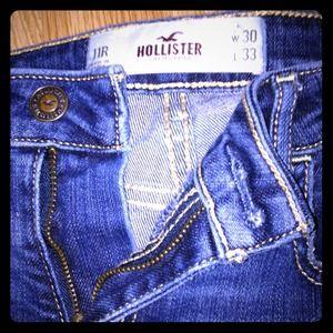 hollister jean sizes