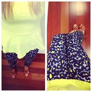 GAP Pants - (((( sold )))))Cheetah pants