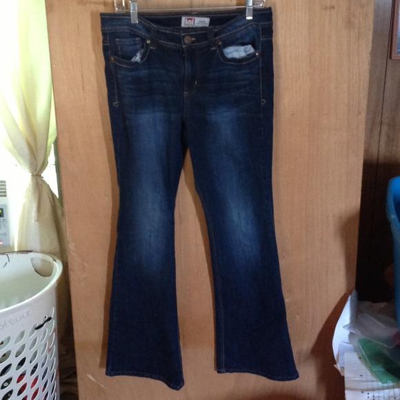 50% off l.e.i. Pants - l.e.i. Sophia Hipster Flare Jeans from ...