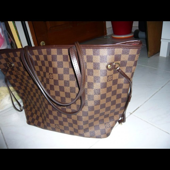 Louis Vuitton damier neverfull inspired bag a8b72b4d88