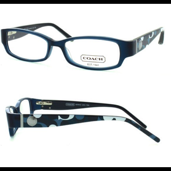 c867997251c5 Coach Other - Auth Coach Bernice Teal Blue Glasses Frames (844)