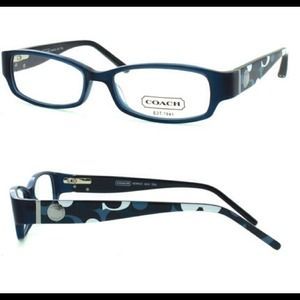 56 Off Coach Other Auth Coach Bernice Teal Blue Glasses