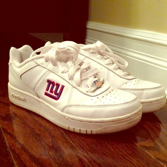 22f61482824 White New York Giants Reebok sneakers. M 520580b6b33e7367d801cdee