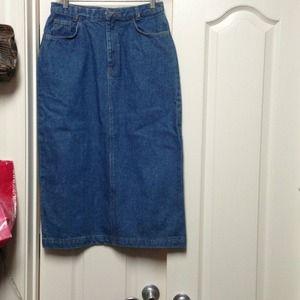 Sunbelt Dresses & Skirts - Sunbelt Blue Jean skirt L