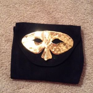 Handbags - SMALL SUEDE MAKE UP OR EVENING BAG. REDUCED😀😍