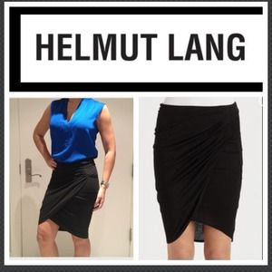 😲Reduced! Sexy Helmut Lang draped skirt