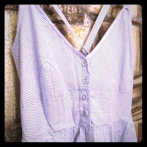 HOST PICK! Adorable seersucker dress!