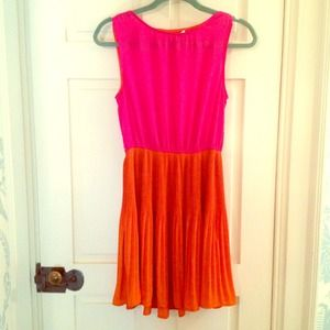 Forever 21 pink and orange dress--great for summer