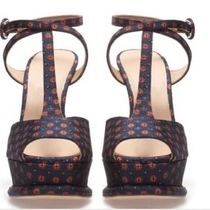 Zara Shoes - 😯REDUCED😮Zara Ankle Strap Sandals (T-Strap) 3